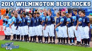 2014_Roster_Blue Rocks Baseball - Photo by Brad Glazier