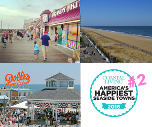 2nd Happiest Seaside Town in USA Rehoboth Beach by Coastal Living Magazine 2016
