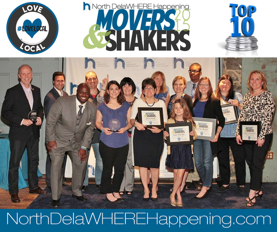 Movers & Shakers Delaware 2015