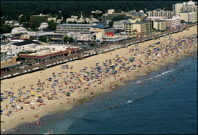 Rehoboth Beach Aerial Kevin Fleming De Art Gallery