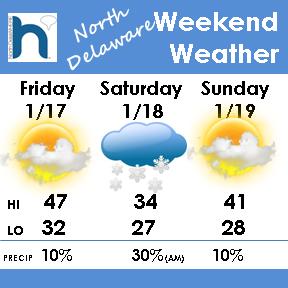 Weekend Weather 2014 - Jan19-Delaware