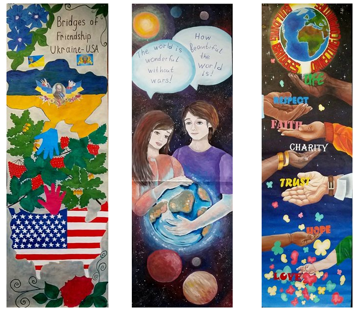 2017 Global Youth Murals: Reconciliation After Building Bridges